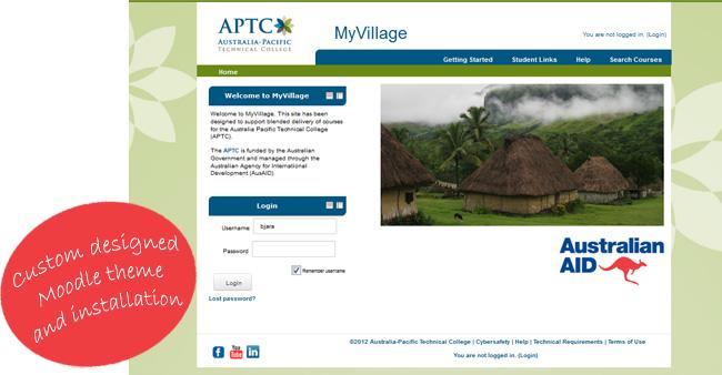 APTC Moodle site